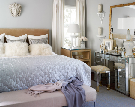 Inspiration lavender grey lark linen - Picture of teeneger room decoration ...