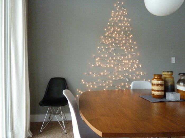 Non Traditional Christmas Tree.Inspiration Non Traditional Christmas Trees Lark Linen