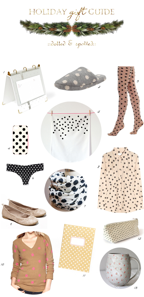 gift guide-spotted and dotted