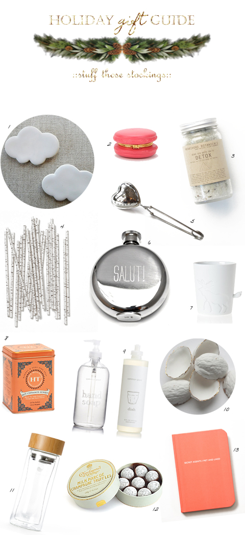 gift guide - stuff those stockings