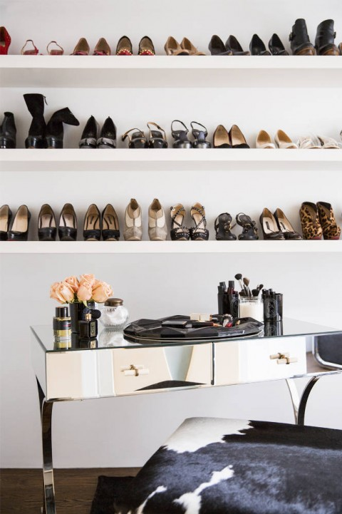 creative shoe shelves