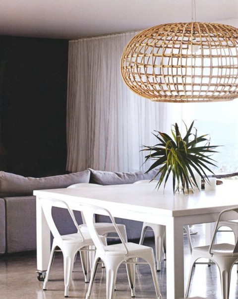 dining room - beach house