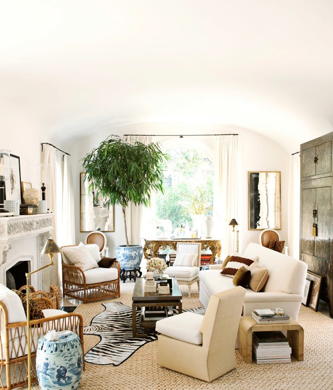 Rustic Glam Living Room house envy: rustic glam | lark & linen