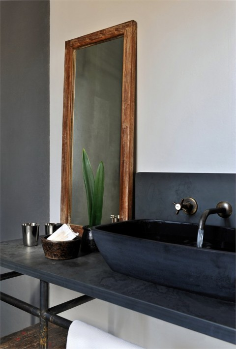 black bowl sink - beautiful sinks