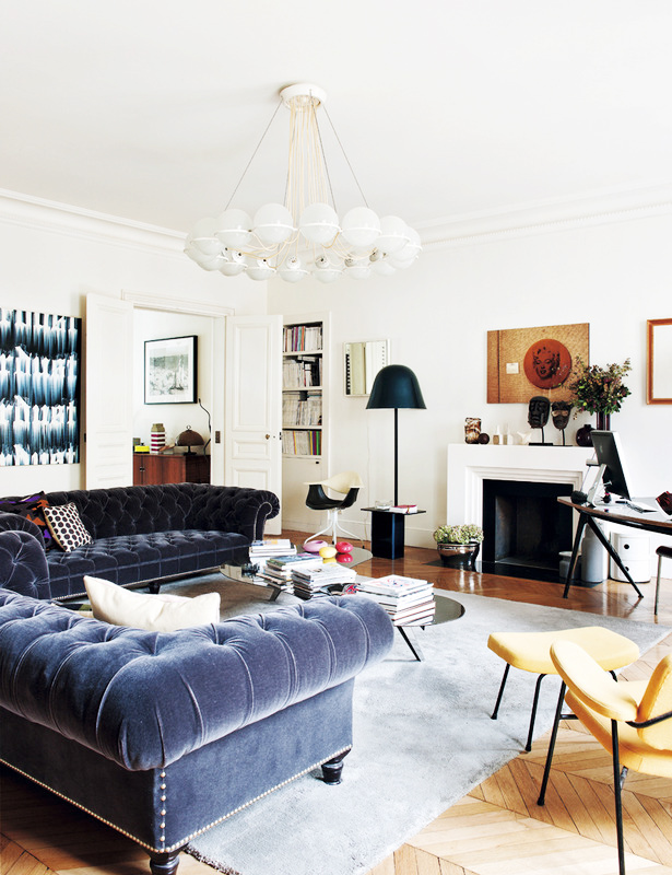 Get The Look A Living Room In Paris