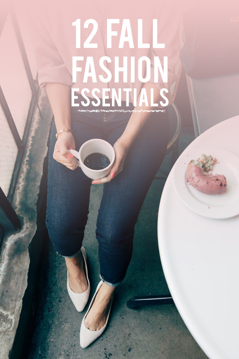 12 fall fashion essentials! Classic, timeless, and totally cozy