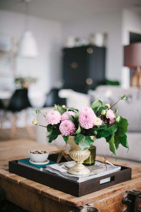 Coffee table styling | Lark & Linen Interior Design