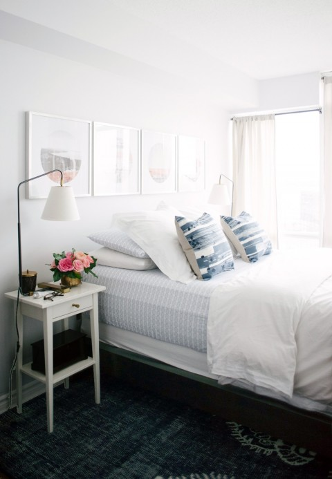 Serene bedroom | Lark & Linen Interior Design