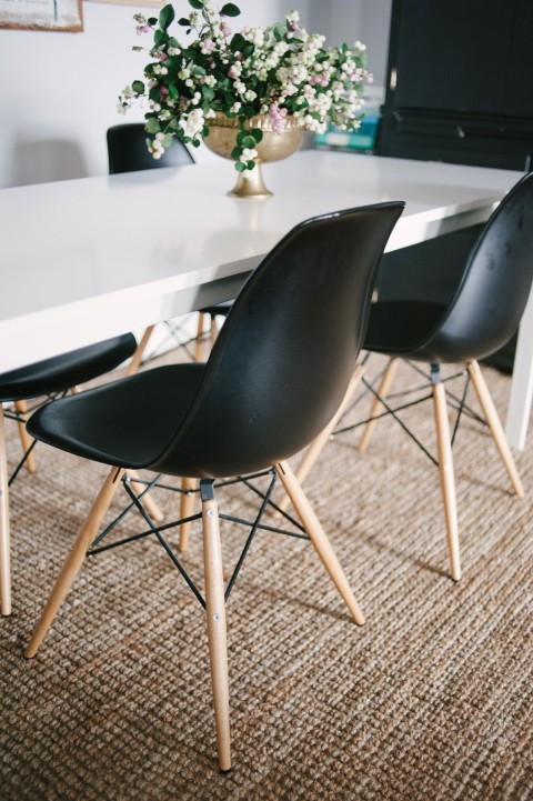 Eames chairs | Lark & Linen Interior Design