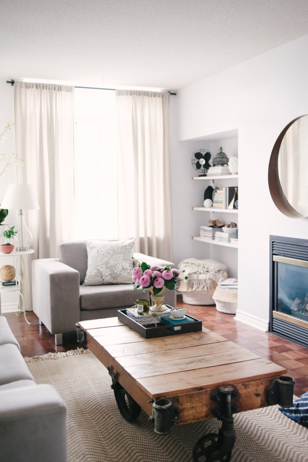 Cozy Living Room: Lark & Linen