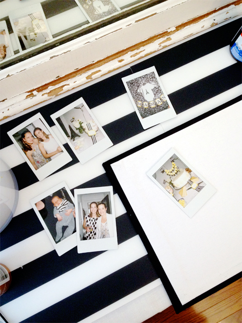 guest book idea: a polaroid camera to capture each guest!
