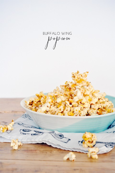 Buffalo wing popcorn recipe