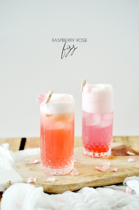 Raspberry cocktail recipe dishmaps for Cocktail rose