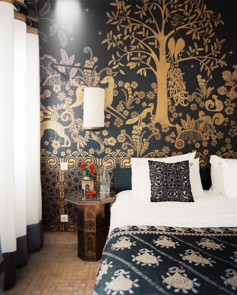 graphic bedroom
