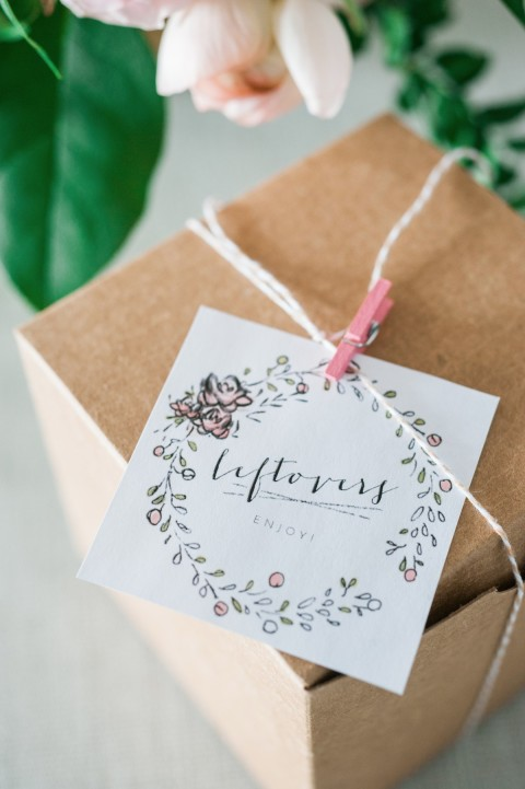 DIY: leftover takeout boxes (including free printable)