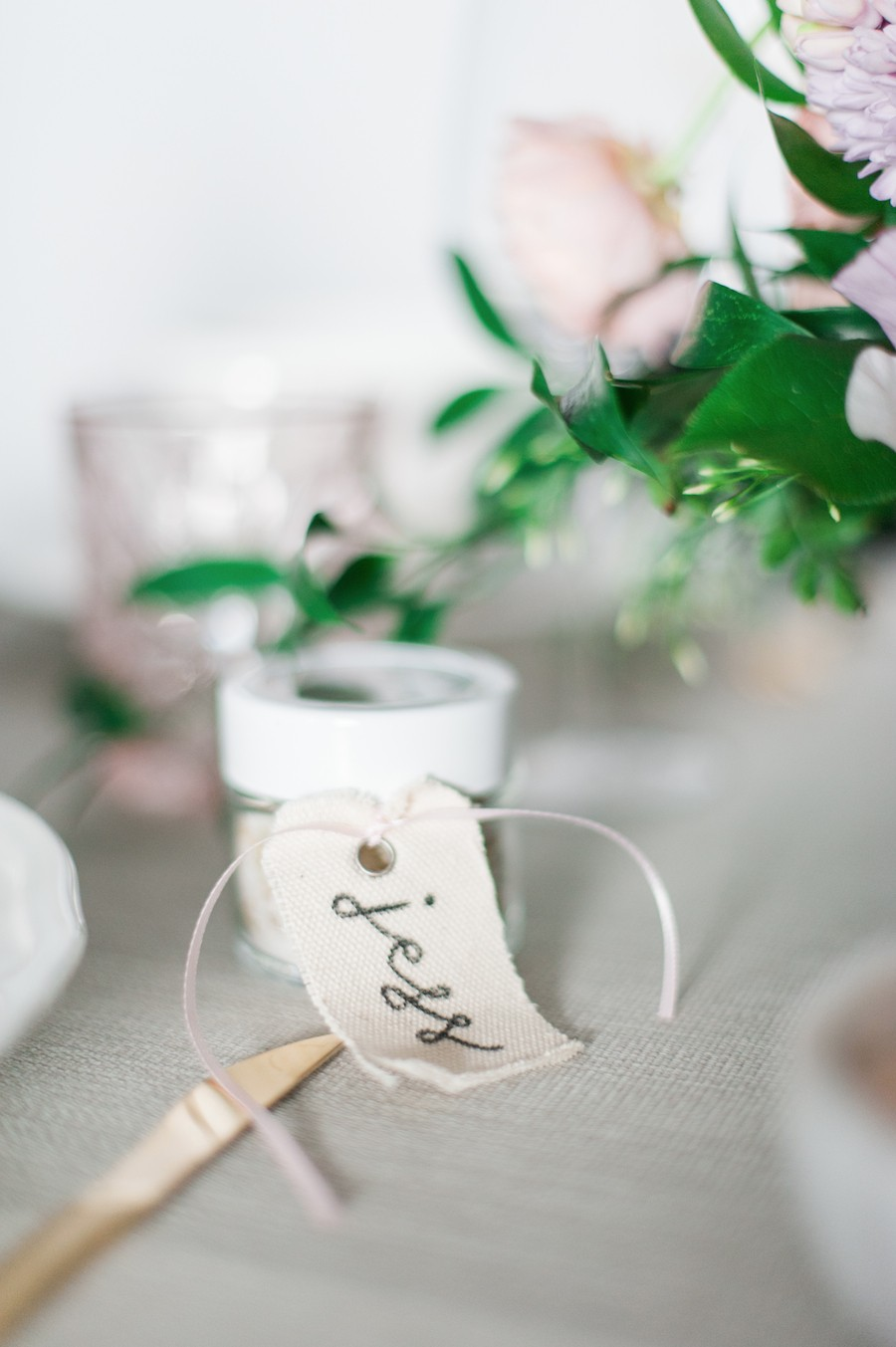 DIY Rosemary sea salt favors