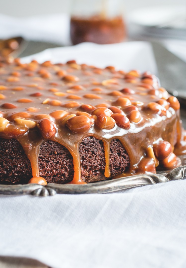 Candy Bar With Peanuts Caramel And Chocolate
