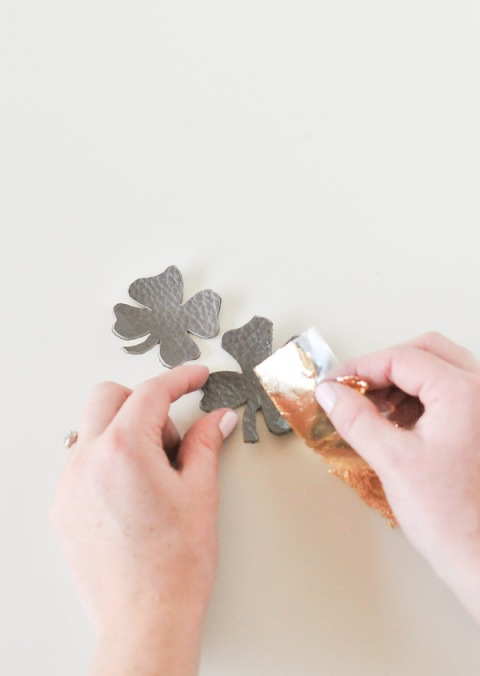 DIY lucky magnets