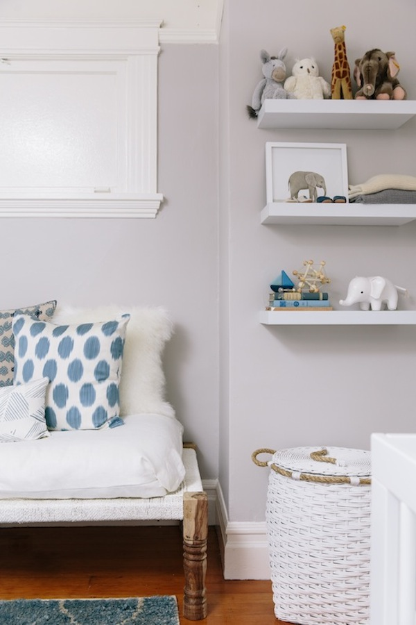 Nursery perfect for mom and baby alike