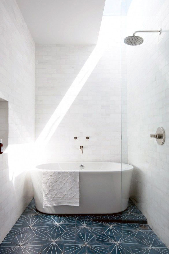 Bathroom Floor Inspiration : Bathroom inspiration lark linen