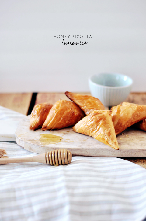 honey ricotta turnovers