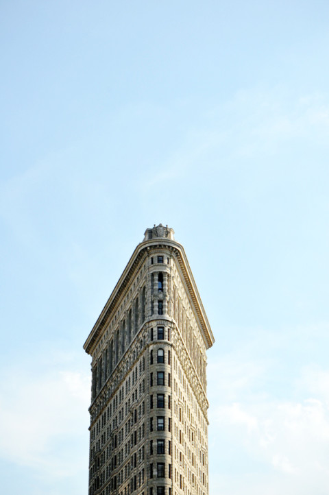 The flatiron building - New York City