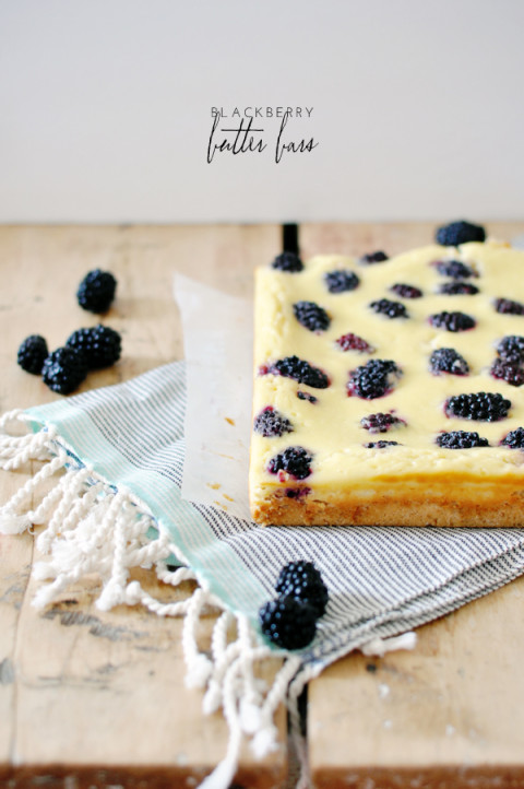 blackberry butter bars