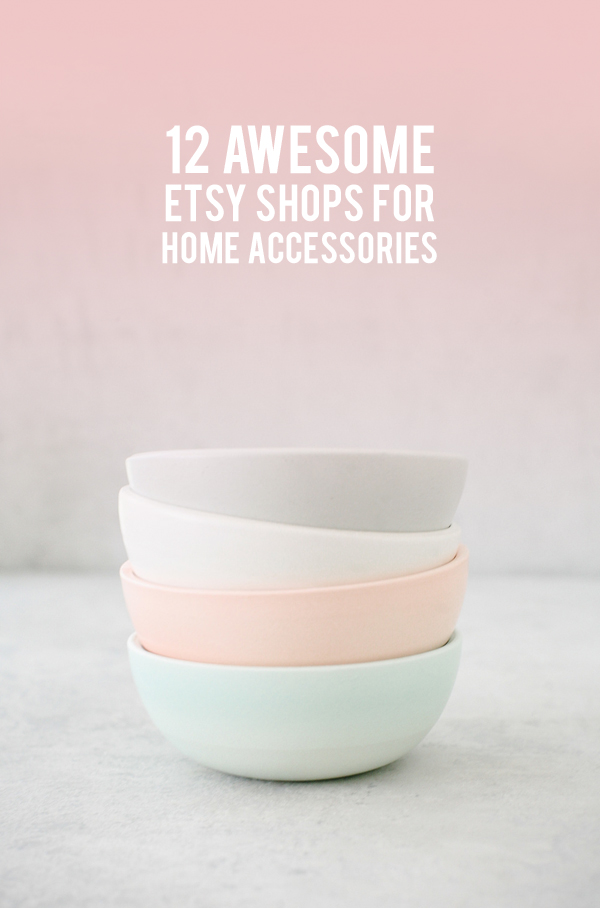 The best etsy shops for home accessories