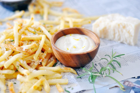 rosemary truffle fries