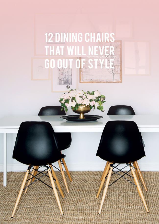 12 Dining Chairs that will Never Go Out of Style   lark & linen
