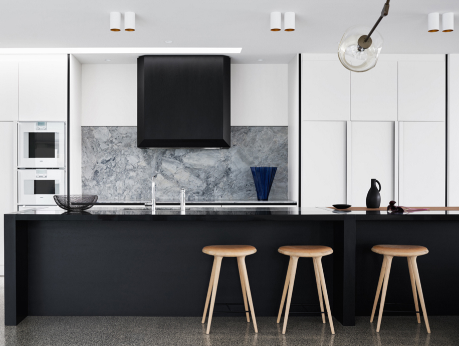 Contrast In Interior Design Great Contrast House By
