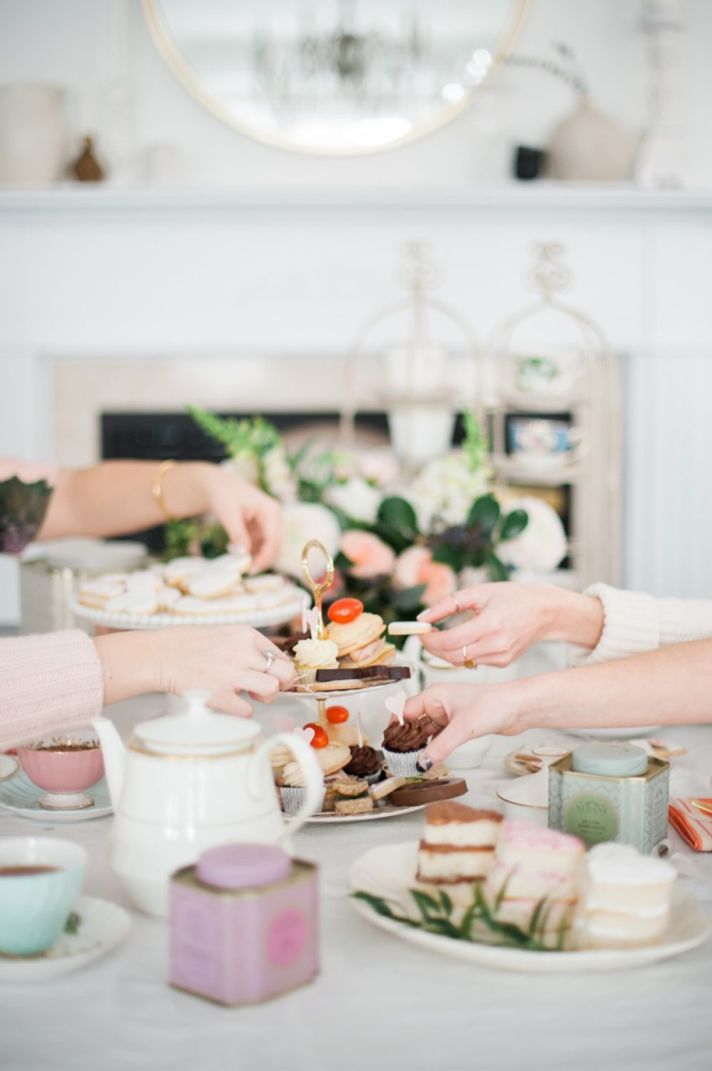 Valentine\'s Day Afternoon Tea | lark & linen