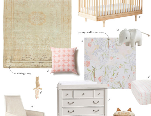 Whimsical nursery plans