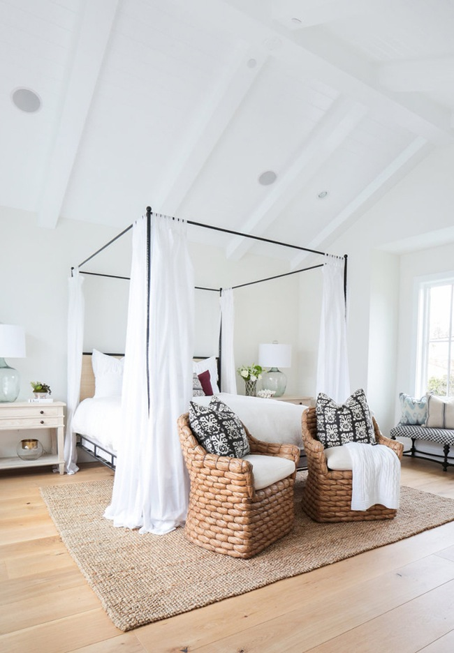 light bright coastal bedroom
