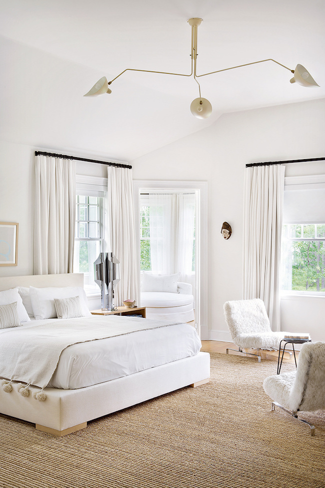 Warm white room (hint: the secret is lots of texture)