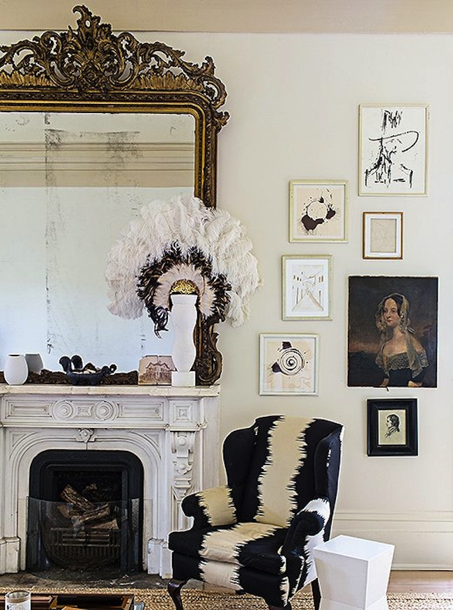 Elegant Living And Dining Room Ideas: Domino's Founding Creative Director Opens Her Doors, And