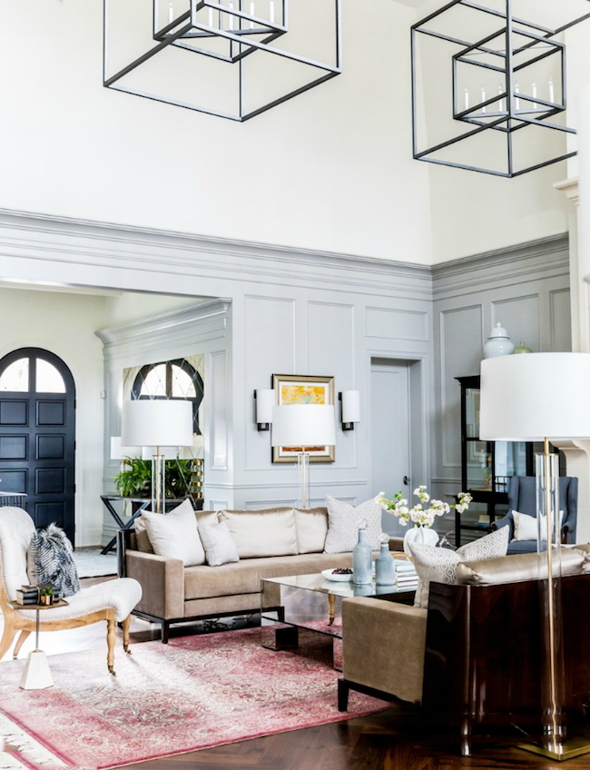 Living Room Timeless Decorating Ideas: A Contradiction Of Elements