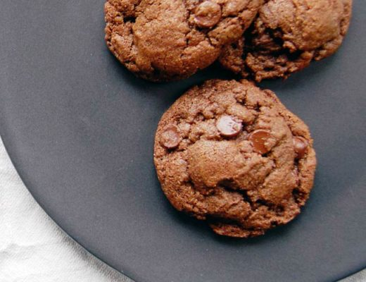 Double Chocolate Smoked Sea Salt Cookies