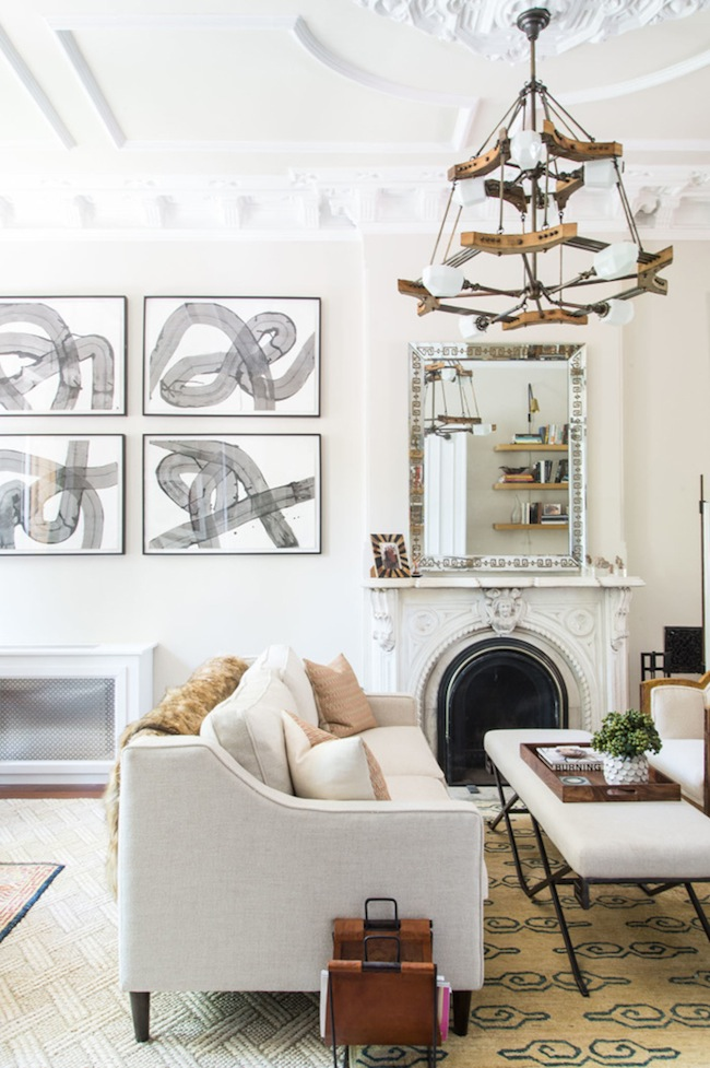 Tour This Eclectic Brooklyn Brownstone | lark & linen