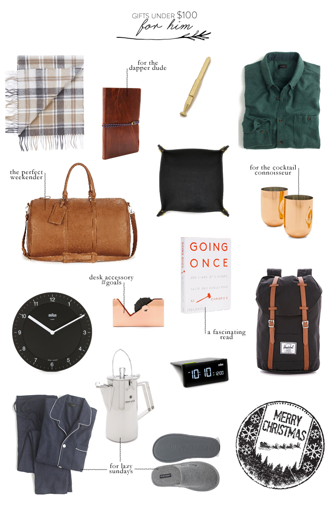 gifts-under-100-for-him - 45 Christmas Gift Ideas Under $100, For Everyone On Your List Lark
