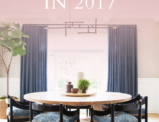 design trends to follow in 2017