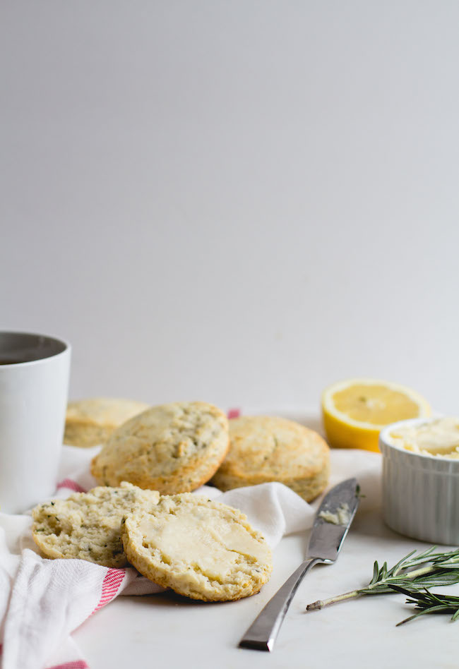 Lemon + Rosemary Biscuits with Lemon-Honey Butter-10