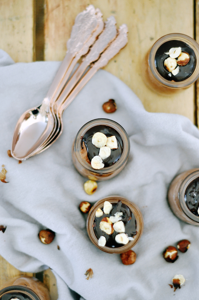 Chocolate Hazelnut Mousse | lark & linen