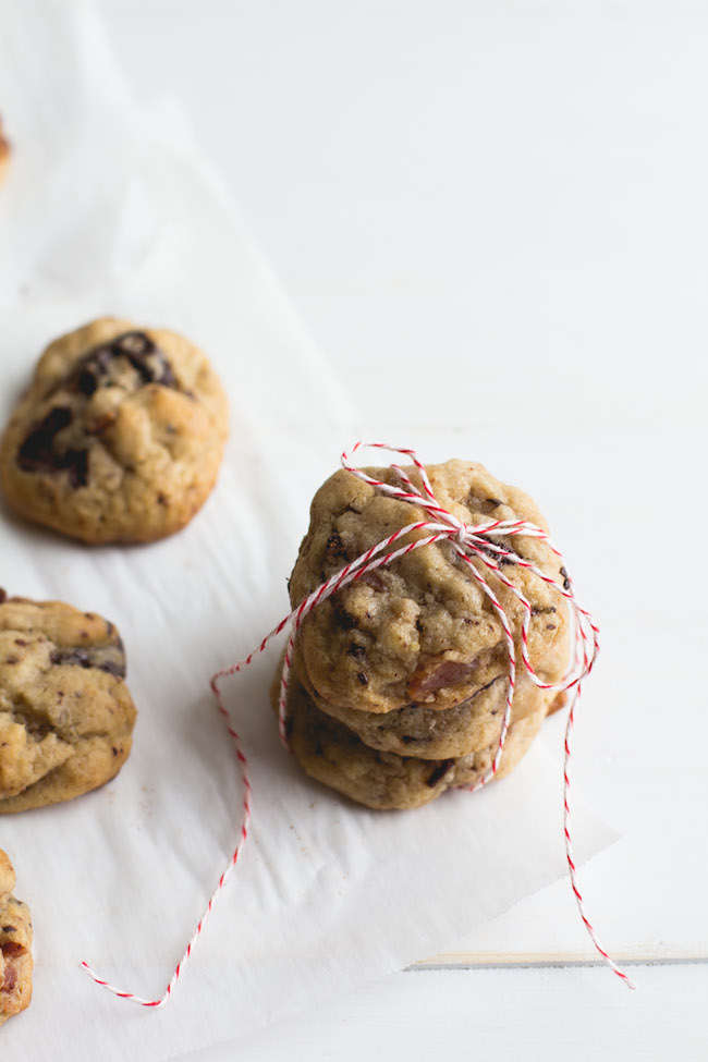 Bacon + Dark Chocolate Cookies-10
