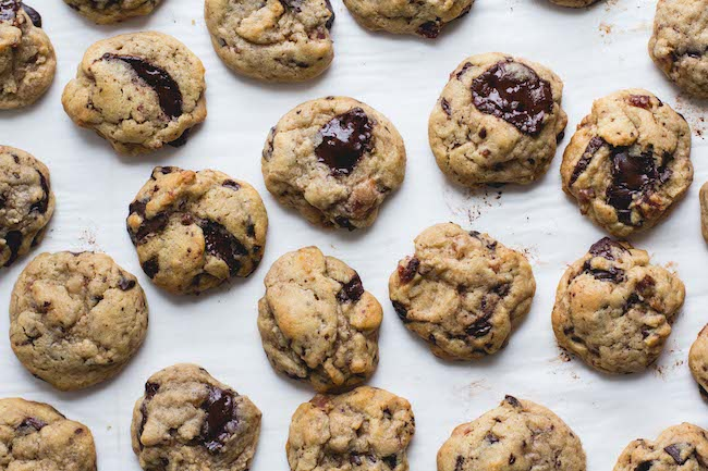 Bacon + Dark Chocolate Cookies-8