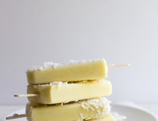 PIneapple + Coconut Popsicles-7