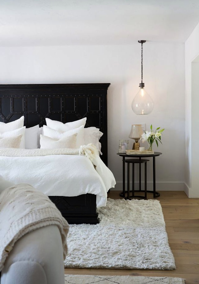 Tour this 6 bedroom boho paradise lark linen Bedroom design ideas with black furniture