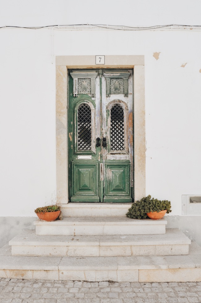 Old door in Portugal