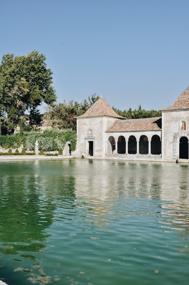 500 year old pool house
