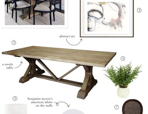 Get the Look - Rustic Modern Dining